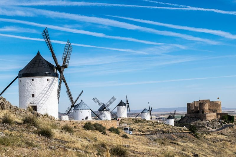 Consuegra; close, hospitable and surprising
