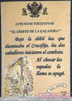 Chrystus z Skull, Gustavo Adolfo Bécquer
