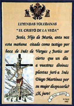 El Cristo de la Vega, legend of Toledo