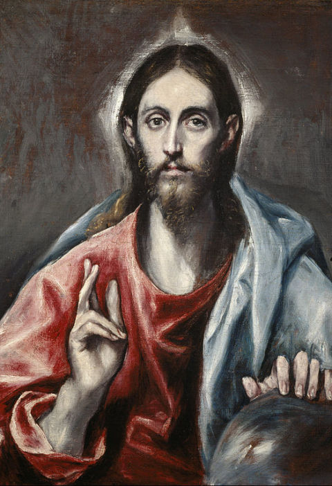 El Greco and its hieroglyphics