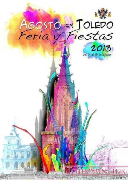 Program Fair and Festivals 2013 in honor of the Virgen del Sagrario in Toledo