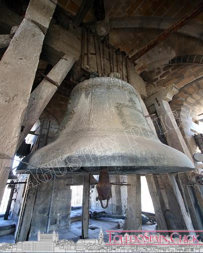 """History of""""San Eugenio"""" , the Gorda Bell of Toledo Cathedral"""