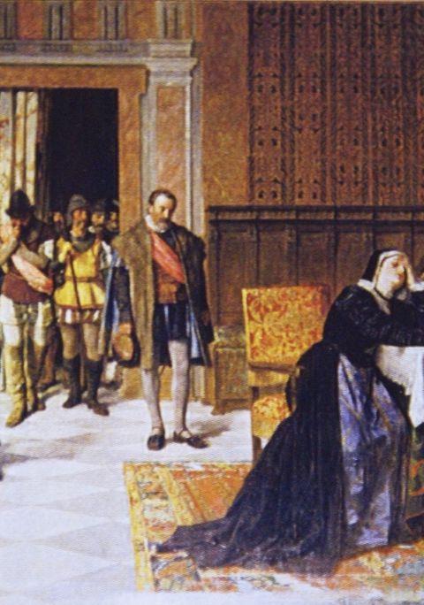 """María Pacheco """" La Leona de Castilla"""" and Toledo"""
