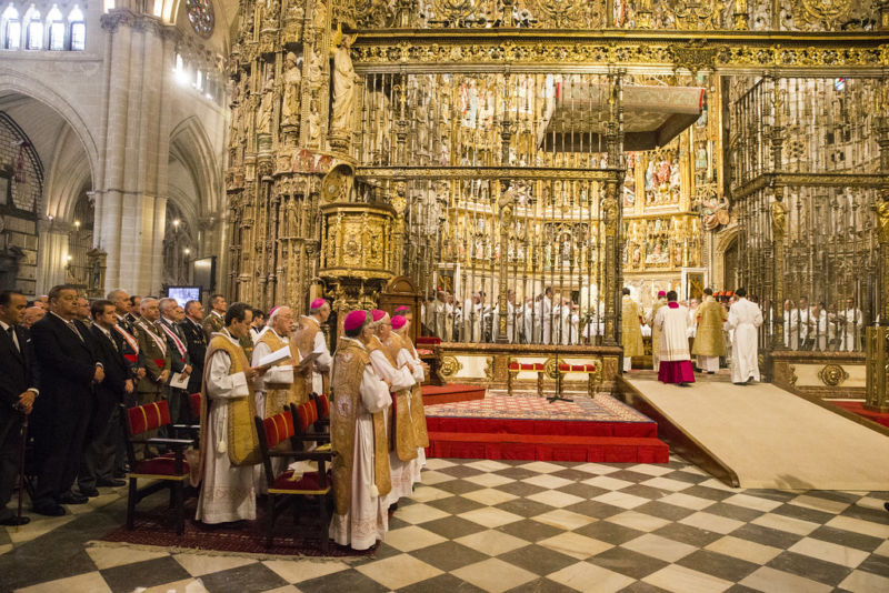 Photographs of Corpus Christi in Toledo
