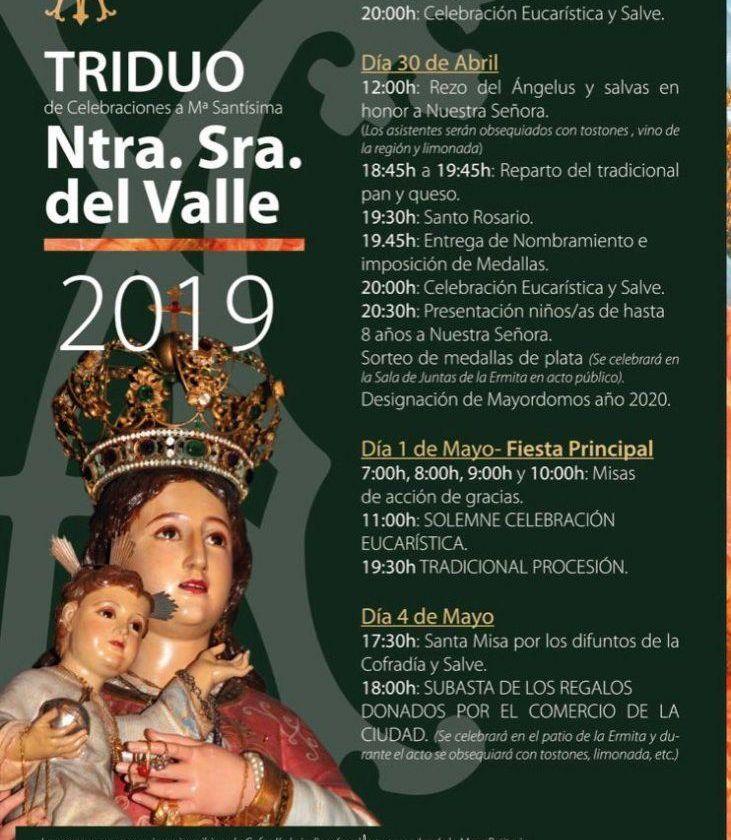 Pilgrimage of the Virgin of the Valley in Toledo (updated 2019)