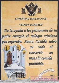 Santa Casilda (a legend about the Alcazar of Toledo)