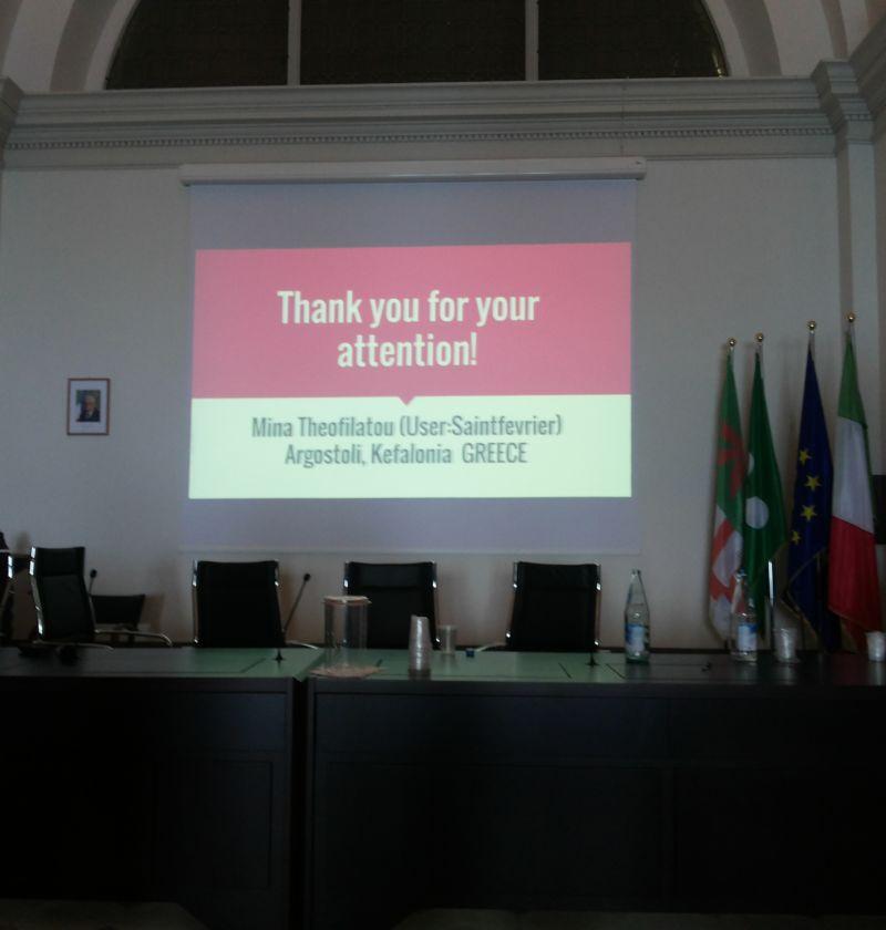 "Thank you all - Presentation "" Navigating the Legends of Toledo"" ."