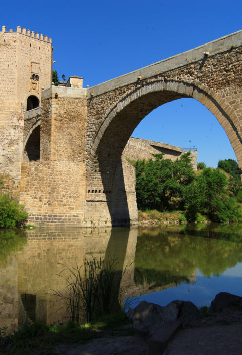 The Bridge of Alcántara in Toledo
