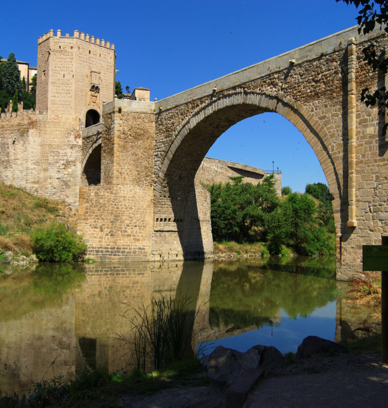 The Bridge of Alcántara in Toledo