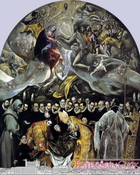 The burial of the Count of Orgaz (El Greco)