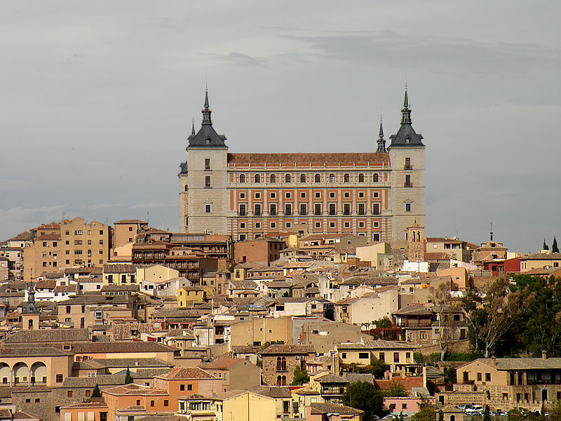 The ghost of the Alcazar of Toledo